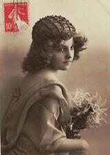 ME2796 GRETE REINWALD FAMOUS MYSTERY MODEL ART DECO CROCHET HAIR CAP SEC.CON