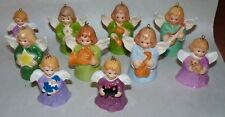 10 Goebel Angel Bell Christmas Tree Ornaments, 1993, 88, 86, 77, 89, 82, 80, Etc