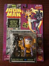 WAR MACHINE VS MODOK - Iron Man Heavy Metal Heroes Die Cast Figures Toy Biz 1994