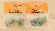 New Hallmark Bag of Ghouls Halloween Decorations 2 Pks ~ 24 Assorted Plastic Bug