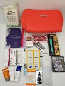 Skinstore Beauty Lot of 26 Pieces Including Cosmetic Bag
