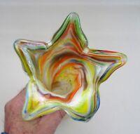 original vase fleur soliflore en pate de verre