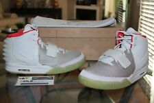Deadstock Nike Air Yeezy 2 Pure Platinum Kanye West 508214-010 Size 11