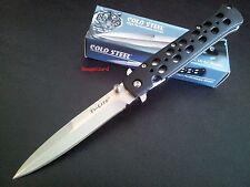 "Cold Steel Stiletto Style 26SP Ti-Lite 4"" Zy-Ex™ Handle Folding Pocket Knife"