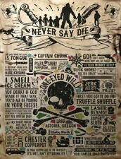 The Goonies 80's Retro treasure map Retro Metal Plaque/Sign, Pub, Bar, Man Cave,