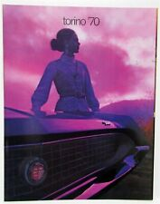 1970 Ford Torino Cobra GT Fairlane 500 Sales Brochure