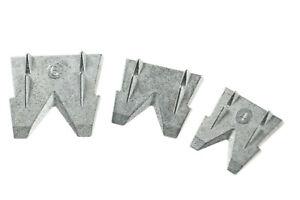 SET 3St. Hammerkeil für Stiele und Sprossen Axtstiel Beilstiel Metall Keil 4-5-6