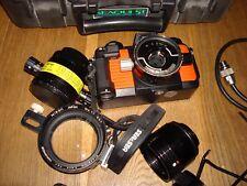 NIKONOS V Unterwasser Kamera, MEGASET, 35mm & 20 mm Linse, Makro+Nahaufnahme