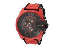 Diesel Men's Mega Chief DZ4526 51mm Black Dial Silicone Watch