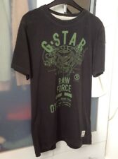 G-Star Raw Black T-Shirt Size S