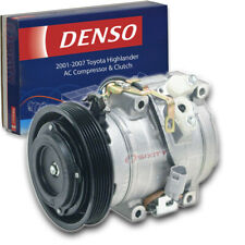 Denso Ac Compressor & Clutch for Toyota Highlander 3.0L 3.3L V6 2001-2007 vz