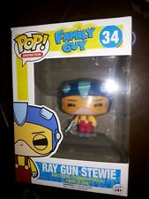 Funko Pop Geek Fuel Family Guy #34 Ray Gun Stewie