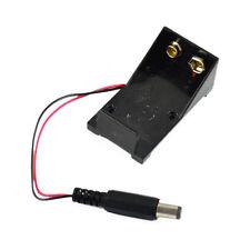 Support à pile AA/R06 9V cablé connecteur 5.5*2.1mm - boitier Arduino E511