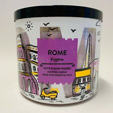 Bath & Body Works Rome Pizzeria Large Scented 3 Wick Candle 14.5 oz Pizza!
