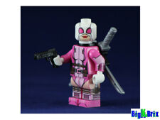 DEADPOOL GWEN Custom Printed on Lego Minifigure!