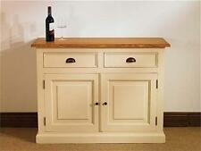 Devon Painted Pine Furniture Small 2 Drawer Sideboard Cabinet
