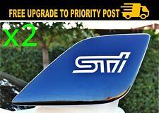 WRX SUBARU sti Car Sticker Wrx STI Wing Spoiler Decal