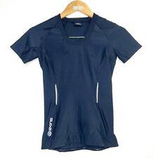 SKINS Original A200 Men's Sports Compression Top Short Sleeve Black Size Large