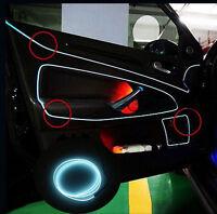 1M 12V Kein LED EL Ambientebeleuchtung Innenraumbeleuchtung Lichtleiste Weiß