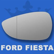 Ford Fiesta wing door mirror glass 2008-2017 Left Passenger side with Blind Spot