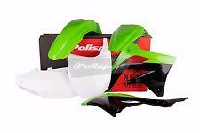 Polisport Motocross Kit Plastique Pour KAWASAKI KXF 450 2012 Seulement OEM vert 90466