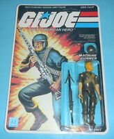 *RECARDED* 1982 GI Joe Rock N Roll v1 Figure Sealed *CUSTOM Full File Card Back*