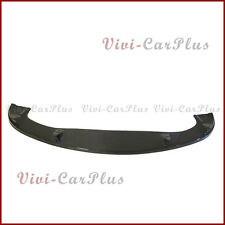 For 04-10 E60 525i 528i Standard Front Bumper Carbon Fiber HM Look Extension Lip