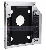 2nd HDD SSD Hard Drive Caddy Adapter for Sony vaio vpc z12z9r VPCS13S9E UJ862AS
