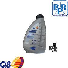 4 LITRI OLIO MOTORE AUTO Q8 FORMULA EXCEL 5W40 SINTETICO (LT.4)