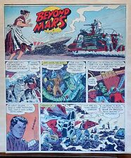 Beyond Mars by Jack Williamson - scarce full tab Sunday comic page, May 18, 1952