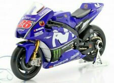 MAVERICK VINALES # 25 1:18 YAMAHA YZR Moto GP Toy Model Race Bike Racing