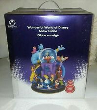 Disney Wonderful World Of Disney Snow Globe