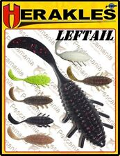 "10 señuelos felxibles criatura Leftail Herakles COLMIC 1,8"" pesca blackbass"