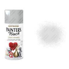 X21 Rust-Oleum PEINTRE Touch Loisirs émail spray peinture Argent Métal 150mlx15