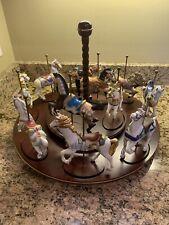 Lenox Set Of Carousel Horses
