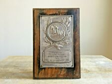 More details for vintage the b.s.j.a. gillian mclean memorial challenge cup 1953 won by eforegiot