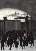 You'll Never Walk Alone - Liverpool FC Sid Kirkham - Mounted Fine Art Print