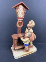 """Vintage Goebel Hummel Figurine Statue 23/1 Adoration TMK2+1 Crown 6 3/4"""" Tall"""