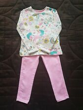 Girls Tu Jumper Nutmeg Jeans Outfit 3-4 Years
