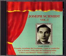 Joseph Schmidt vol.1 la ville morte TOSCA TURANDOT LA CID Manon Rigoletto CD