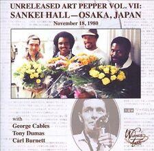 Art Pepper - Unreleased Art Vol. 7: Sankei Hall  (CD, Sep-2012, 2 Discs)