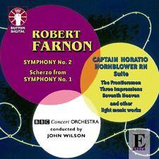 Robert Farnon SYMPHONY NO.2 & CAPTAIN HORATIO HORNBLOWER SUITE - CDLX7173