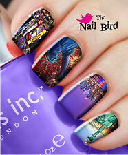 Nail Art Nail Decals Nail Transfers Wraps Natural/Acrylic Nails - NEW YORK