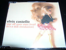 Elvis Costello Tear Off Your Own Head Australian Promo CD