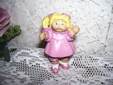 CABBAGE PATCH KID FIGURE GIRL PINK DRESS FIGURE 1984 CPK