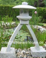 Kotoji japanische Steinlaterne Granit Koi Teich H 70 cm