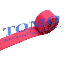 Guaina termorestringente 19,1mm di colore rosso 1m