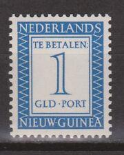 P6 Indonesia Nederlands Nieuw Guinea New Guinea port 6 MLH ong due stamp 1957