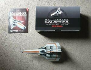 Eaglemoss Battlestar Galactica - Issue 4 - Viper Mark 1 (IN STOCK) RARE MODEL