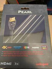 AudioQuest Pearl HDMI Cable - 9.84 ft. (3m) NIB